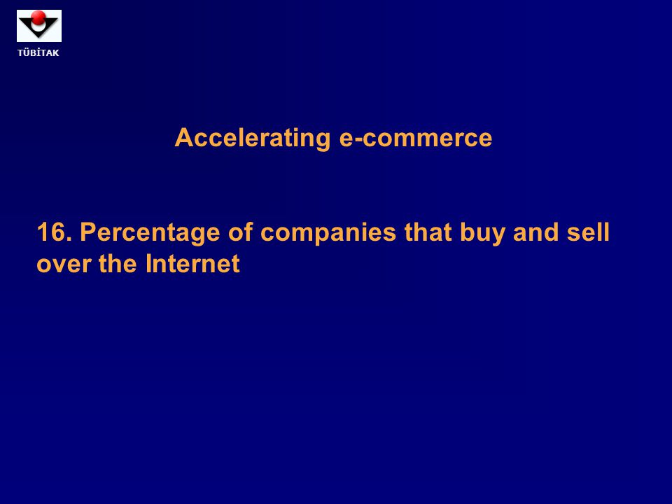 Accelerating e-commerce