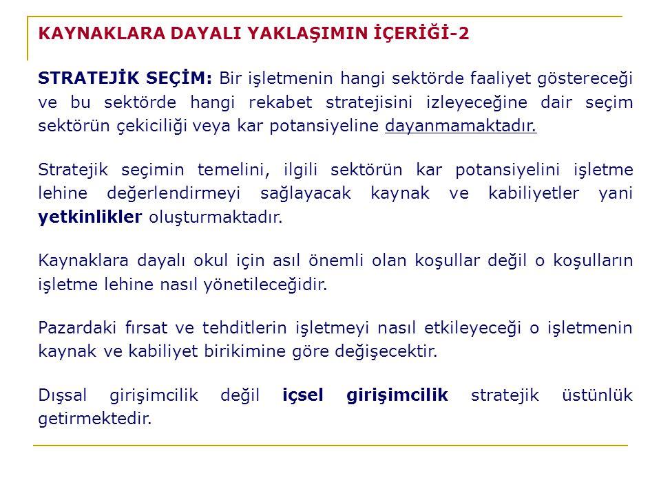 KAYNAKLARA DAYALI YAKLAŞIMIN İÇERİĞİ-2