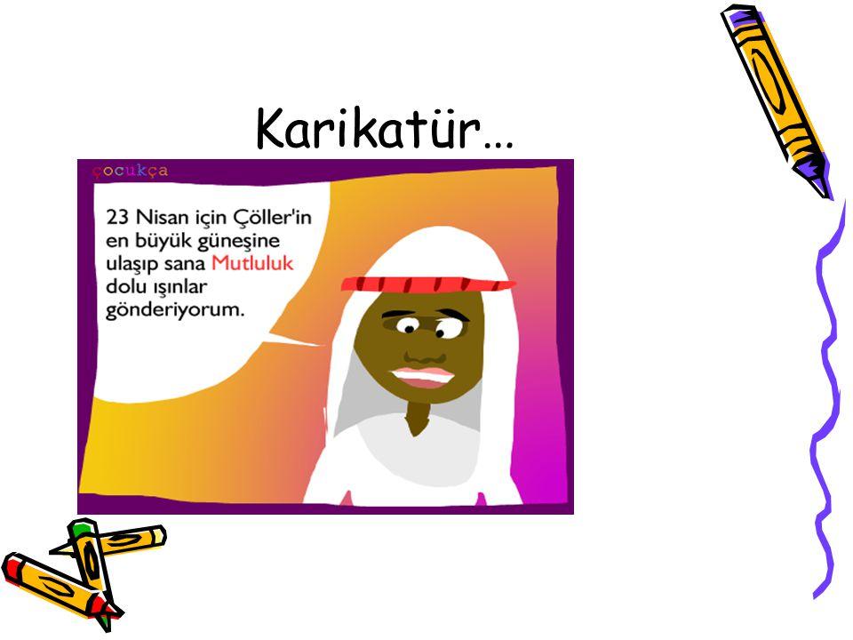 Karikatür…