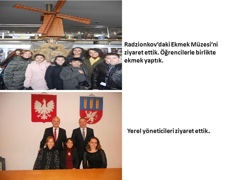 Radzionkov'daki Ekmek Müzesi'ni ziyaret ettik