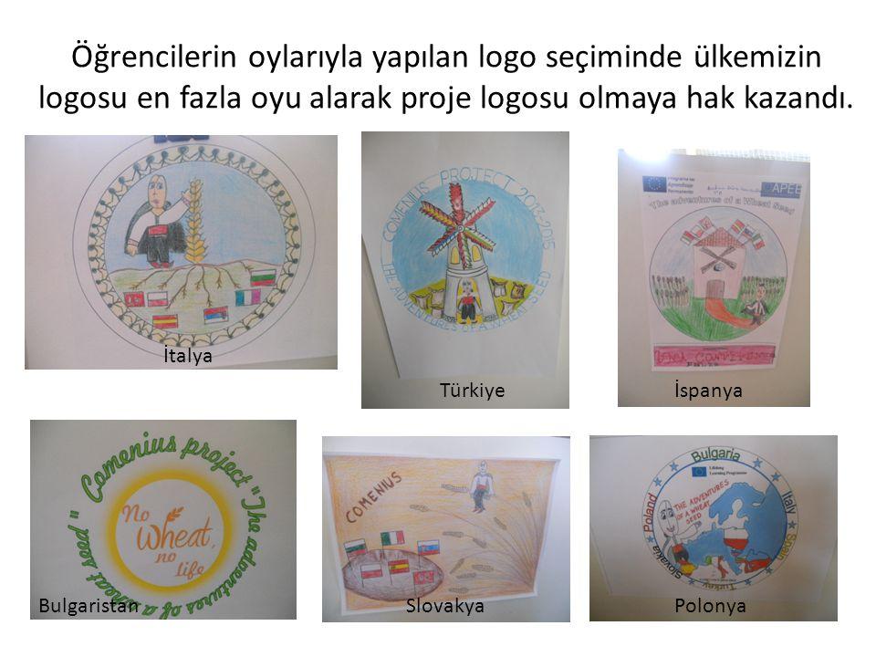 Öğrencilerin oylarıyla yapılan logo seçiminde ülkemizin logosu en fazla oyu alarak proje logosu olmaya hak kazandı.
