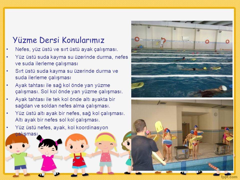 Yüzme Dersi Konularımız