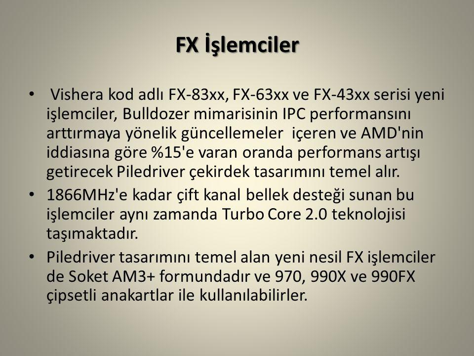 FX İşlemciler
