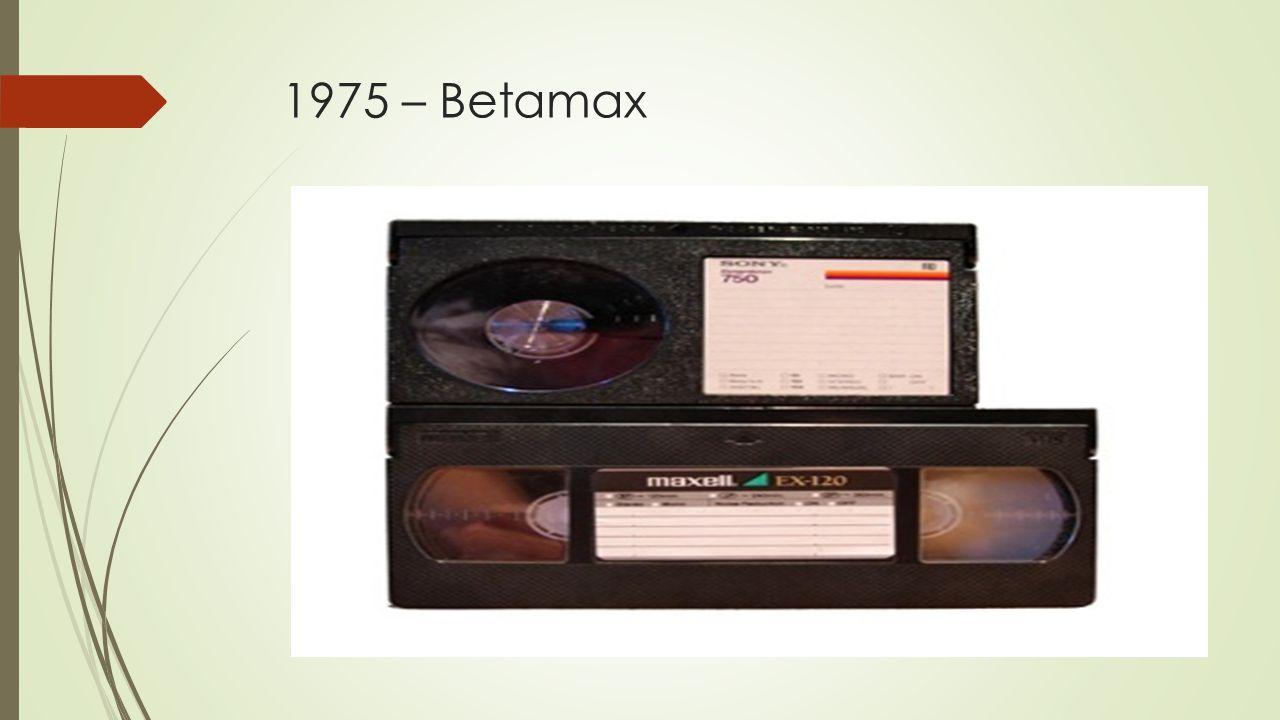 1975 – Betamax