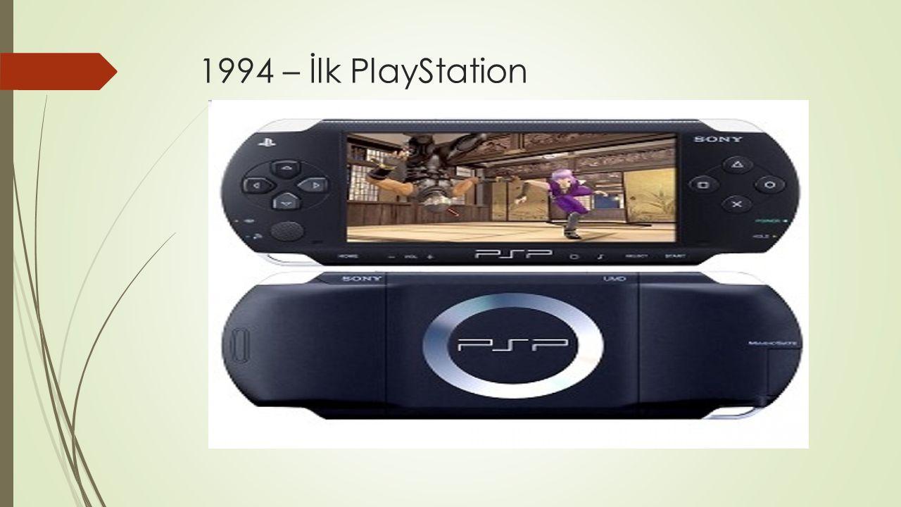 1994 – İlk PlayStation
