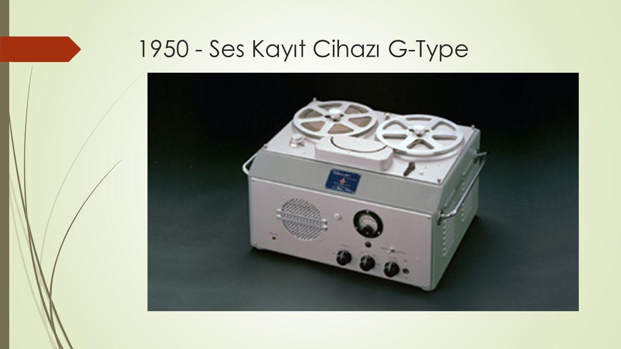 1950 - Ses Kayıt Cihazı G-Type