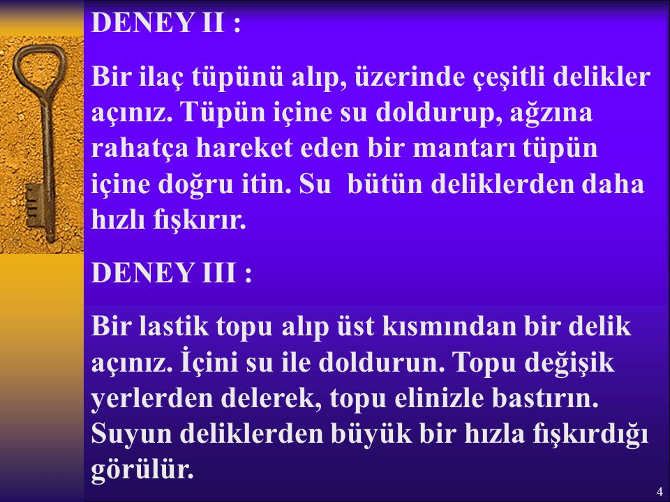 DENEY II :