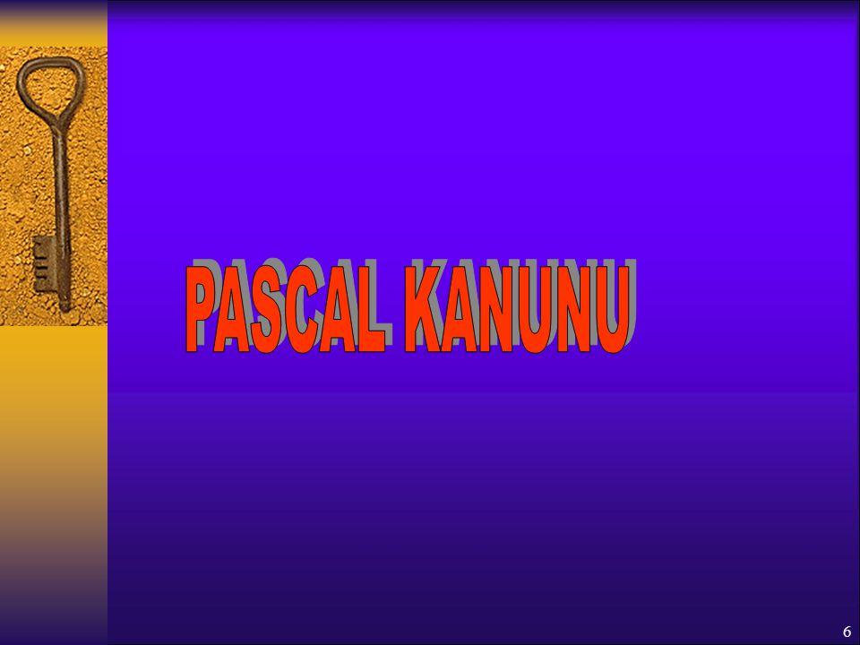 PASCAL KANUNU
