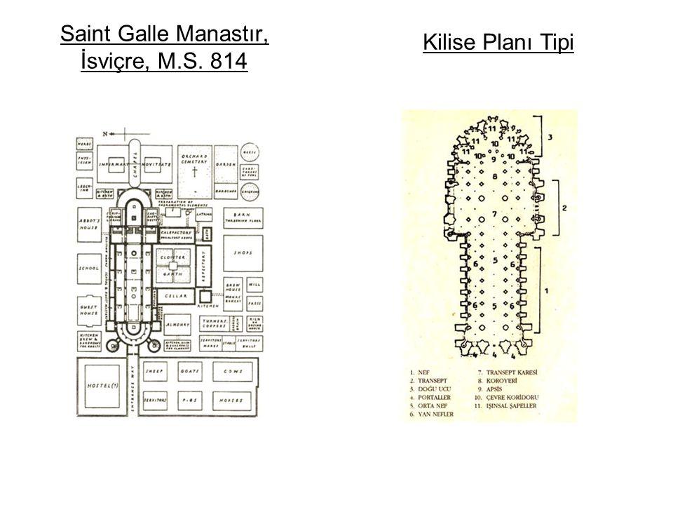Saint Galle Manastır, İsviçre, M.S. 814