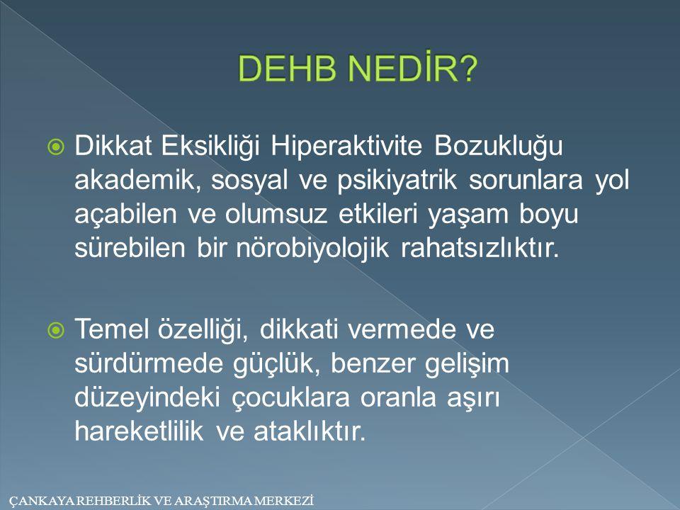 DEHB NEDİR