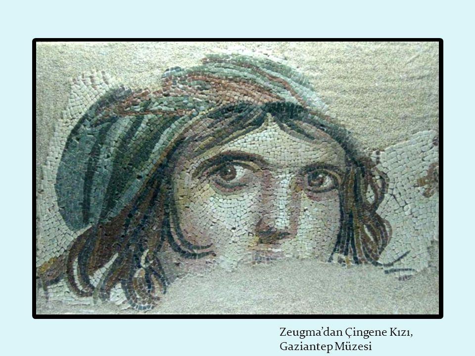 Zeugma'dan Çingene Kızı, Gaziantep Müzesi