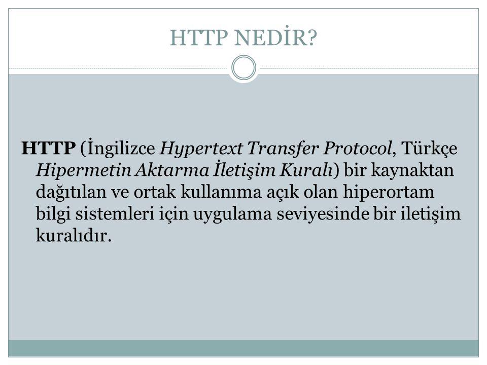 HTTP NEDİR