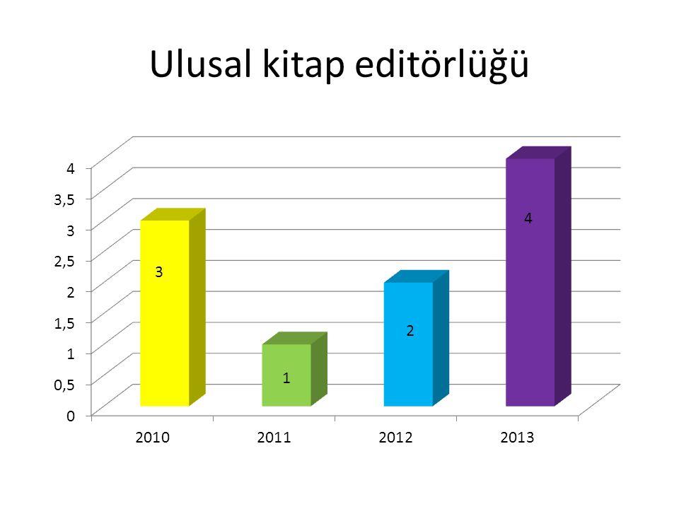 Ulusal kitap editörlüğü