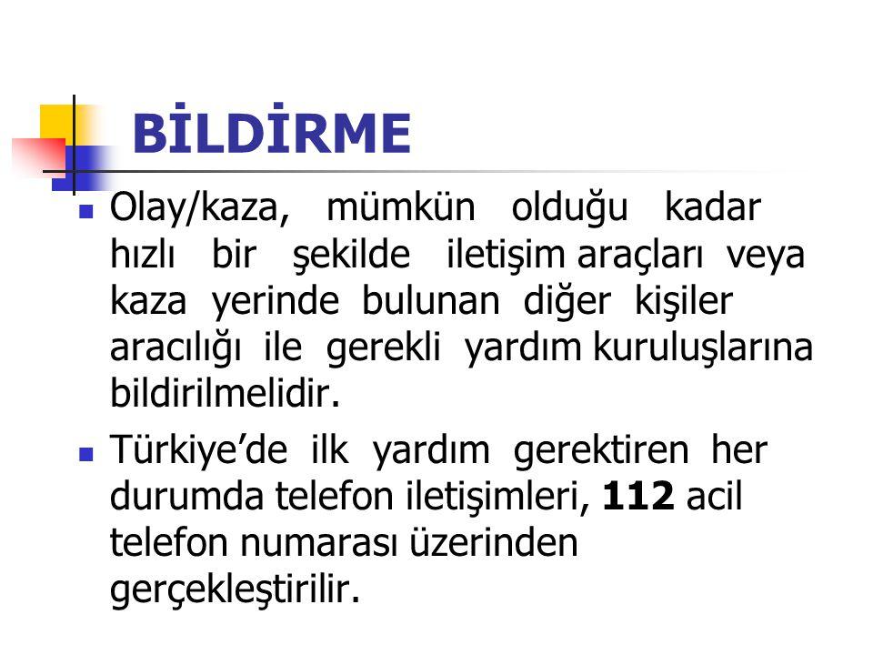 BİLDİRME
