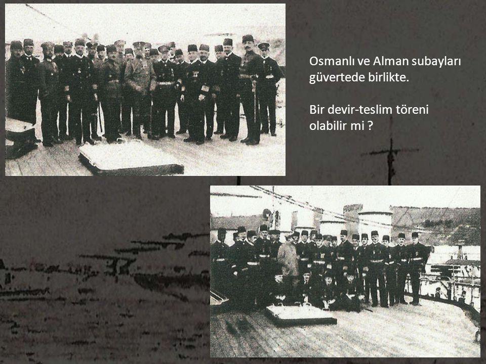 Osmanlı ve Alman subayları