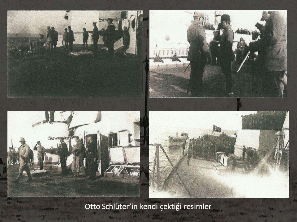 Otto Schlüter'in kendi çektiği resimler