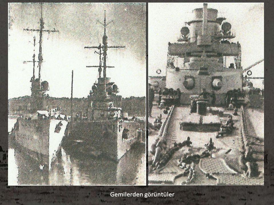 Gemilerden görüntüler