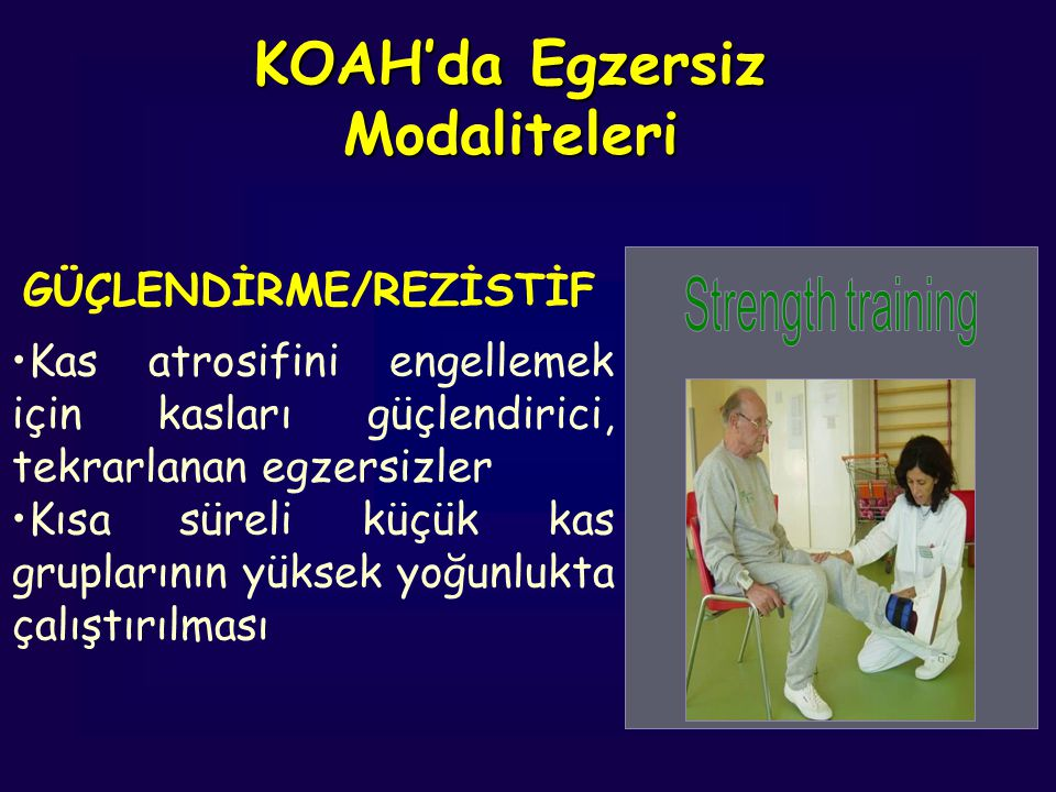 KOAH'da Egzersiz Modaliteleri
