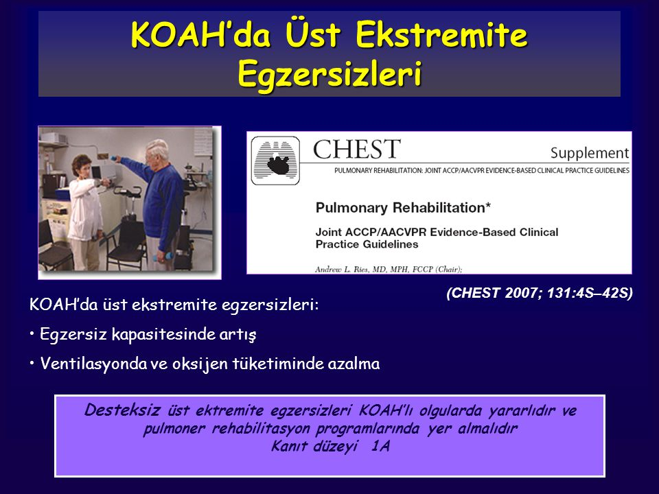 KOAH'da Üst Ekstremite Egzersizleri