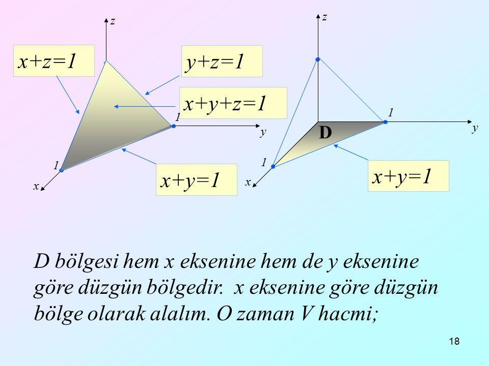 x+z=1 y+z=1 x+y+z=1 x+y=1 x+y=1