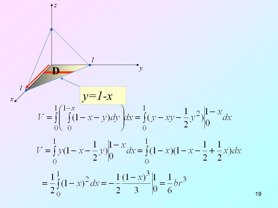 y=1-x x y z D 1 12.04.2017