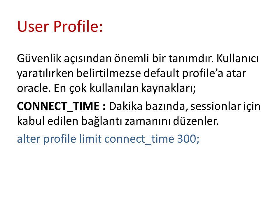 User Profile: