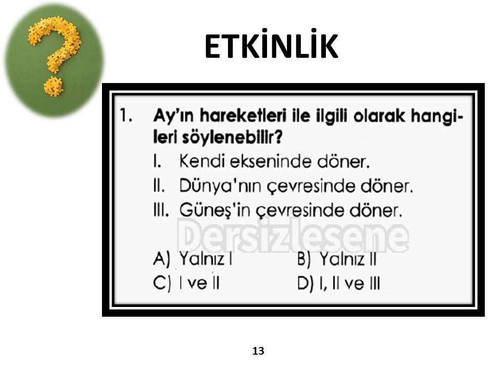 ETKİNLİK 13