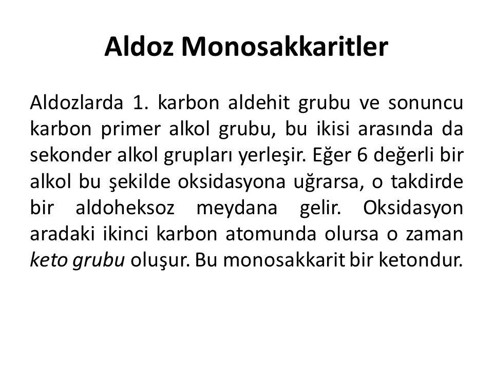 Aldoz Monosakkaritler