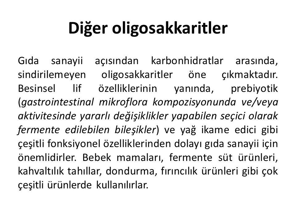 Diğer oligosakkaritler