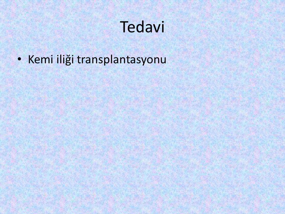 Tedavi Kemi iliği transplantasyonu