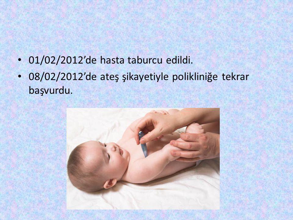 01/02/2012'de hasta taburcu edildi.