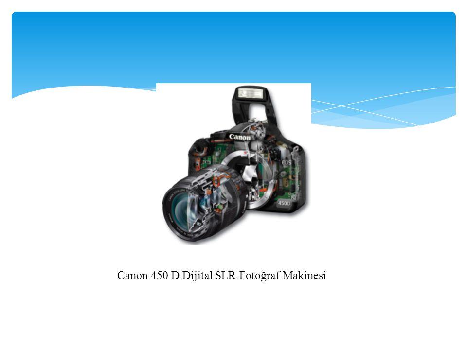 Canon 450 D Dijital SLR Fotoğraf Makinesi