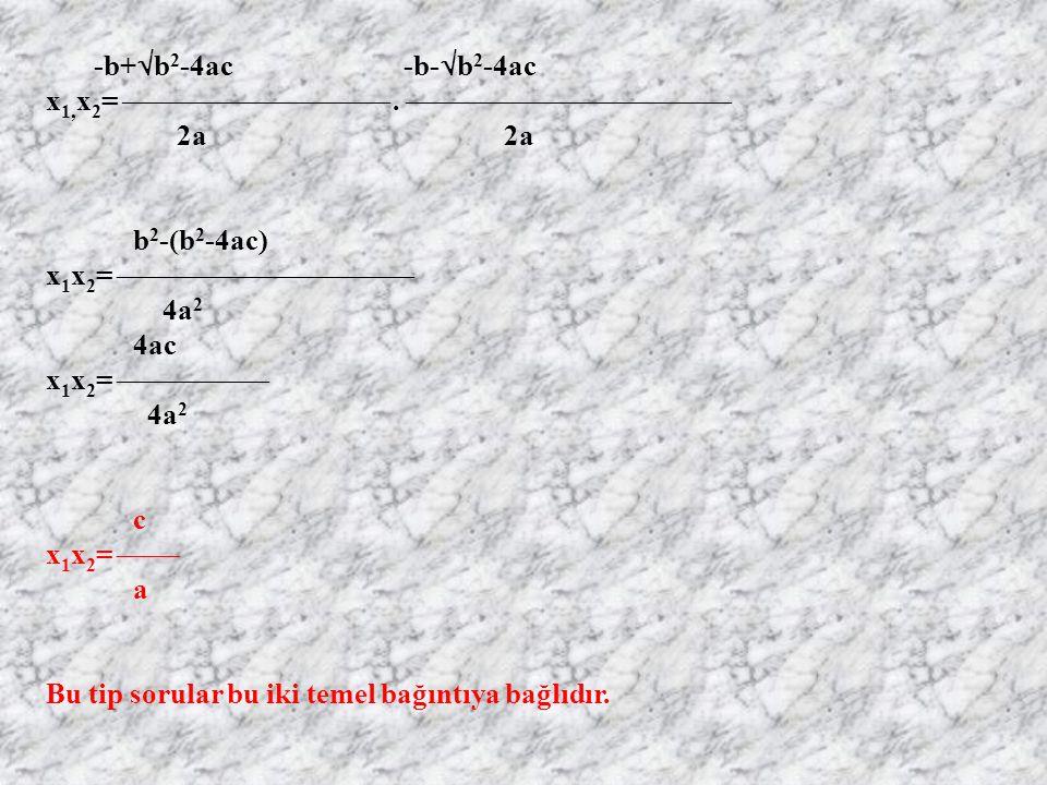 x1,x2=  .  2a 2a