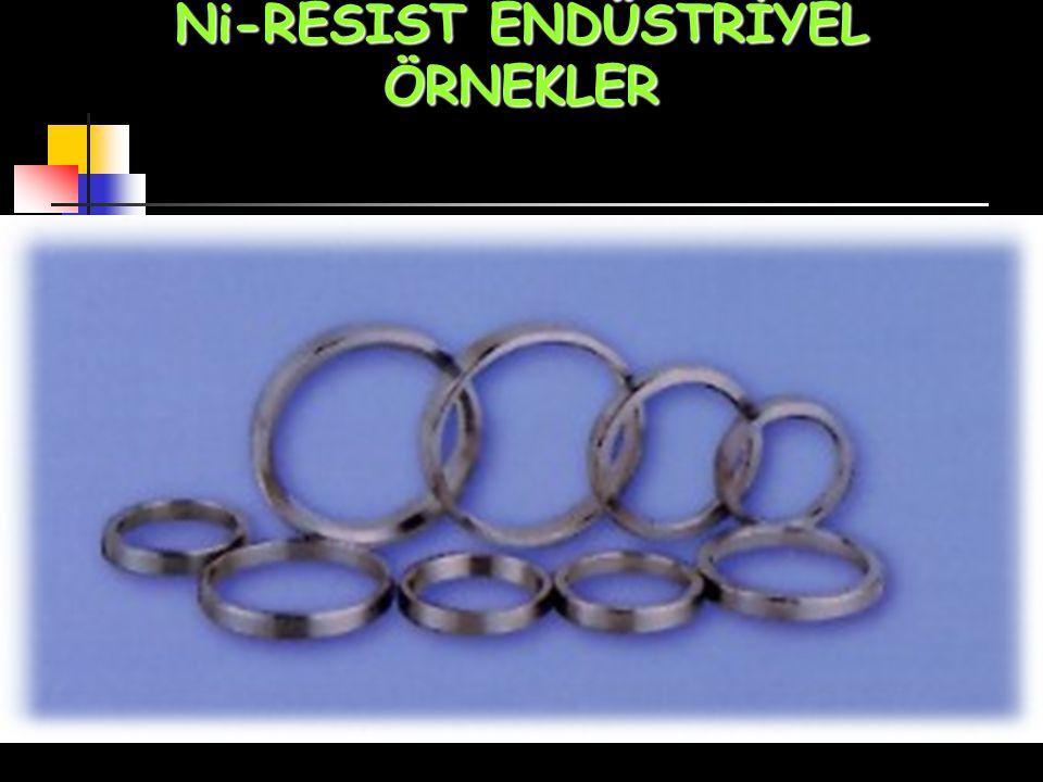 Ni-RESIST ENDÜSTRİYEL ÖRNEKLER