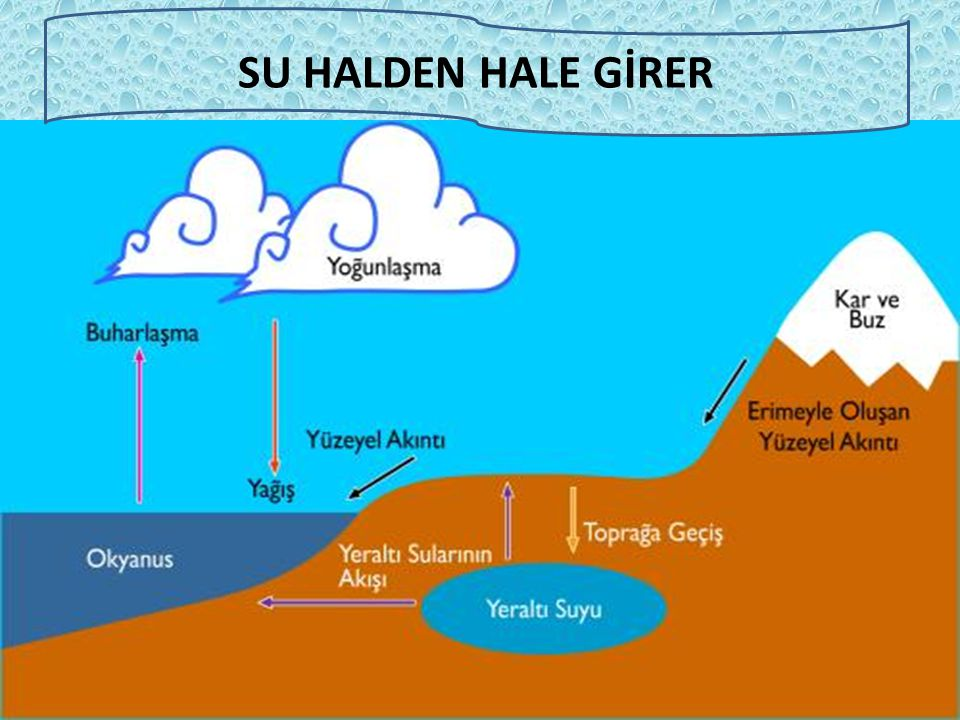 SU HALDEN HALE GİRER