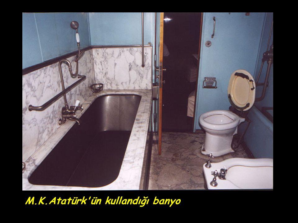 M.K.Atatürk ün kullandığı banyo