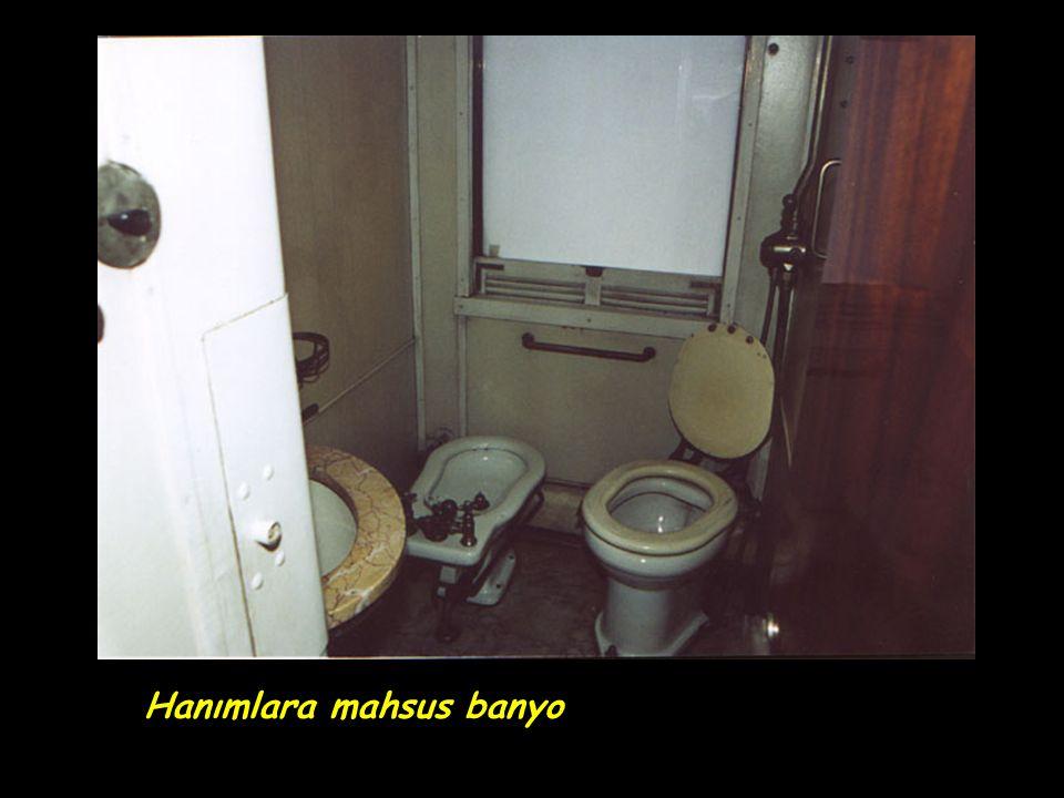 Hanımlara mahsus banyo