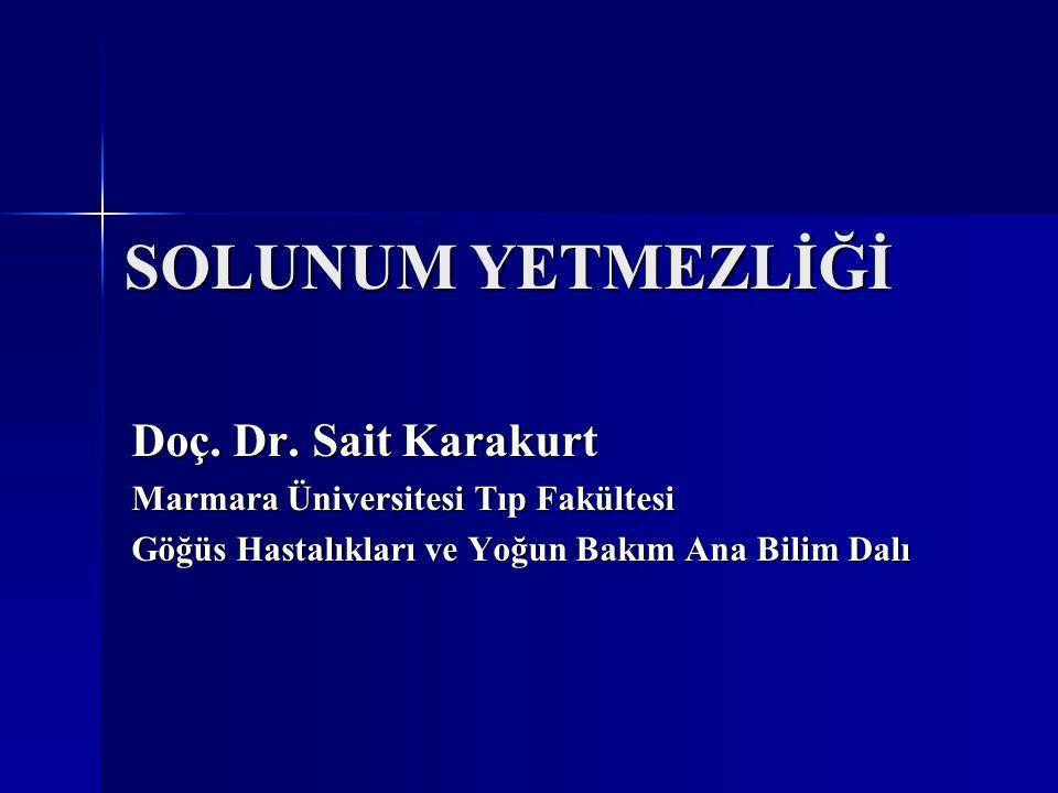SOLUNUM YETMEZLİĞİ Doç. Dr. Sait Karakurt