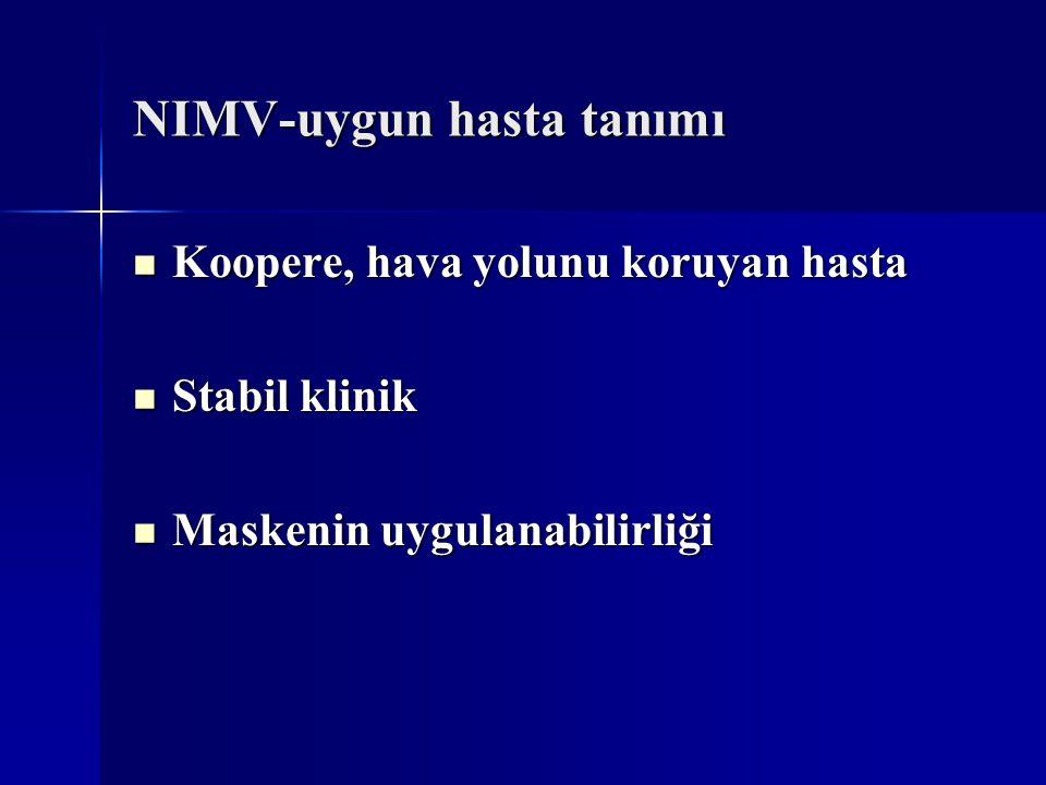 NIMV-uygun hasta tanımı