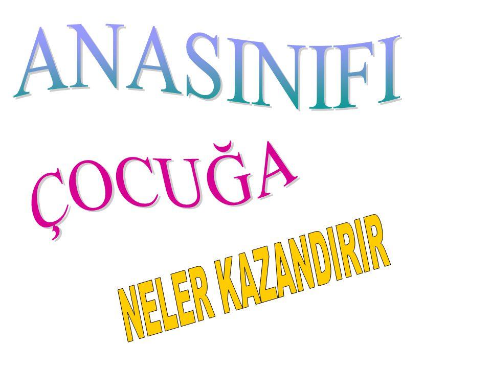 ANASINIFI ÇOCUĞA NELER KAZANDIRIR