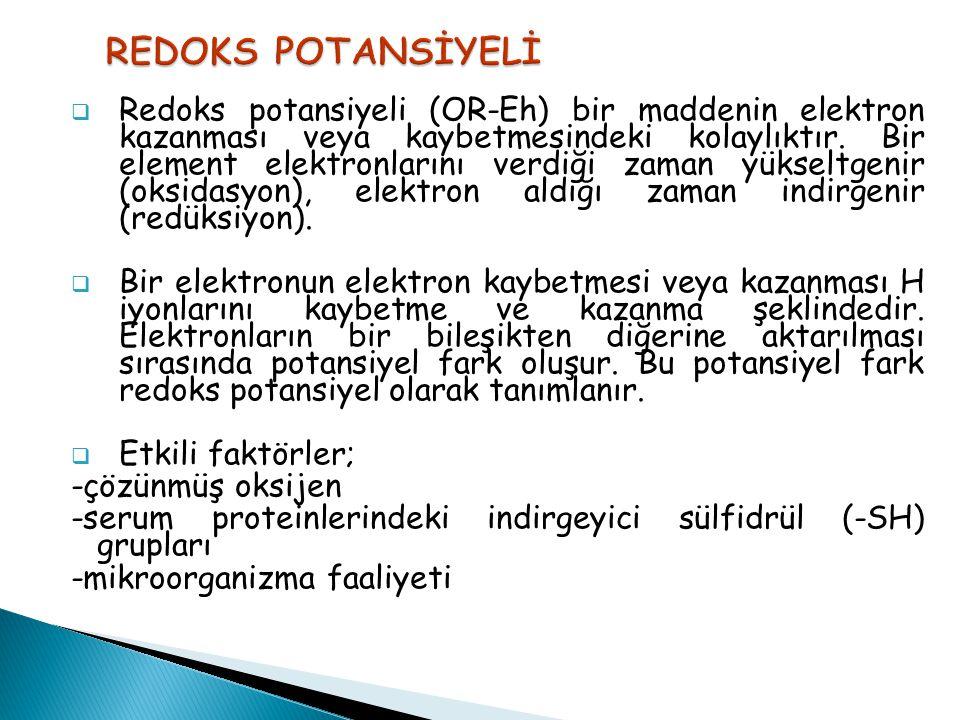REDOKS POTANSİYELİ