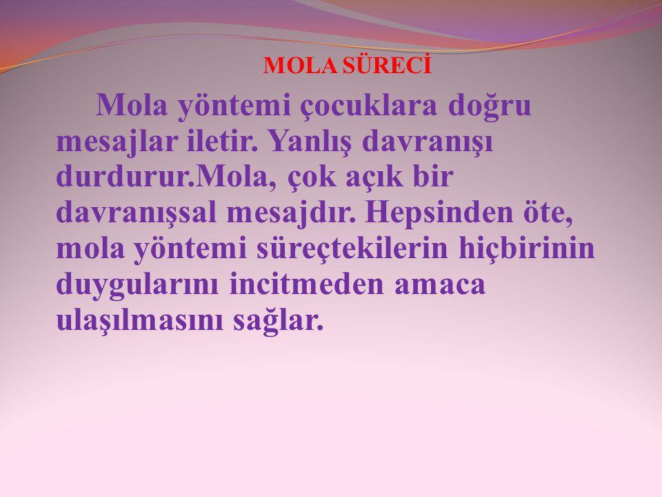 MOLA SÜRECİ