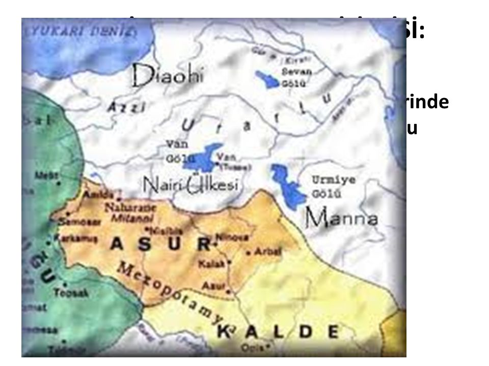 HURRİ(CE)-URARTU(CA) İLİŞKİSİ: