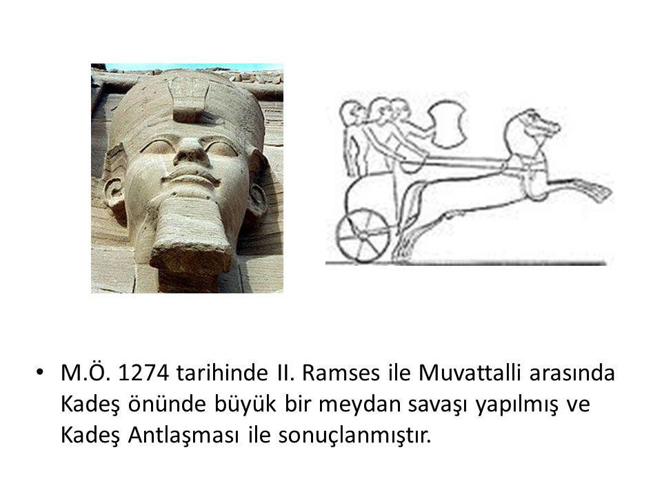 M.Ö. 1274 tarihinde II.