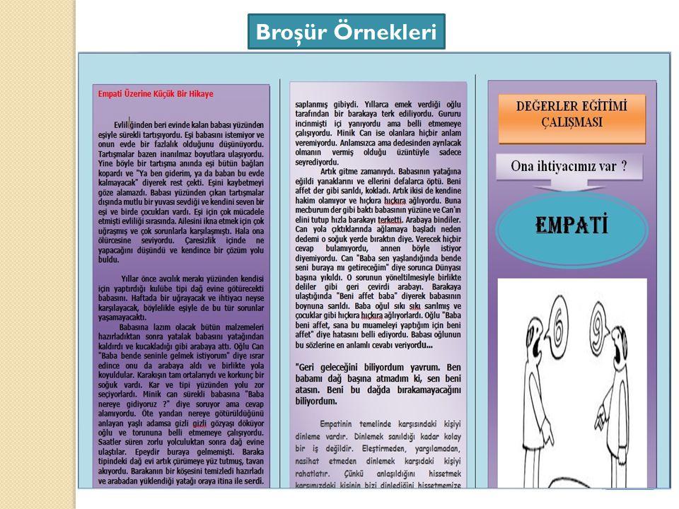 Broşür Örnekleri