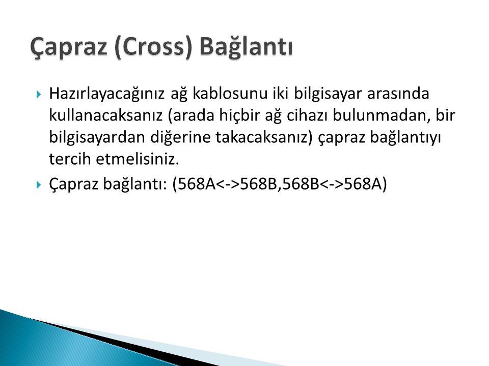 Çapraz (Cross) Bağlantı