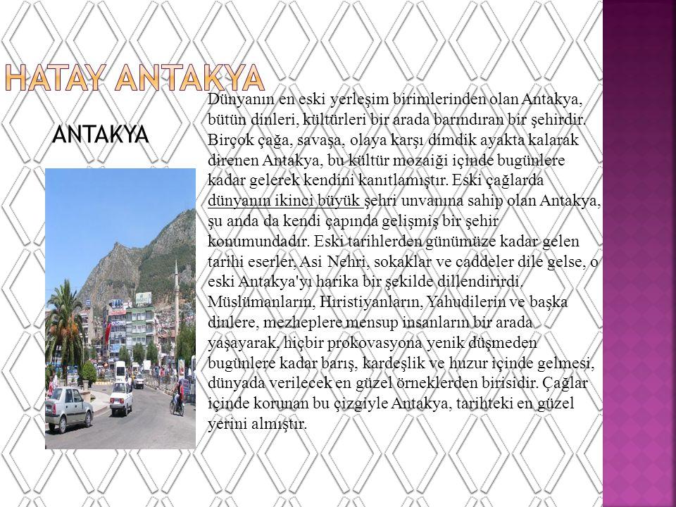 HATAY ANTAKYA