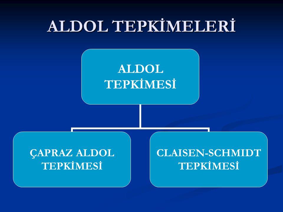ALDOL TEPKİMELERİ