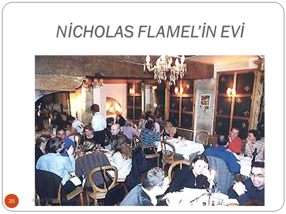 NİCHOLAS FLAMEL'İN EVİ