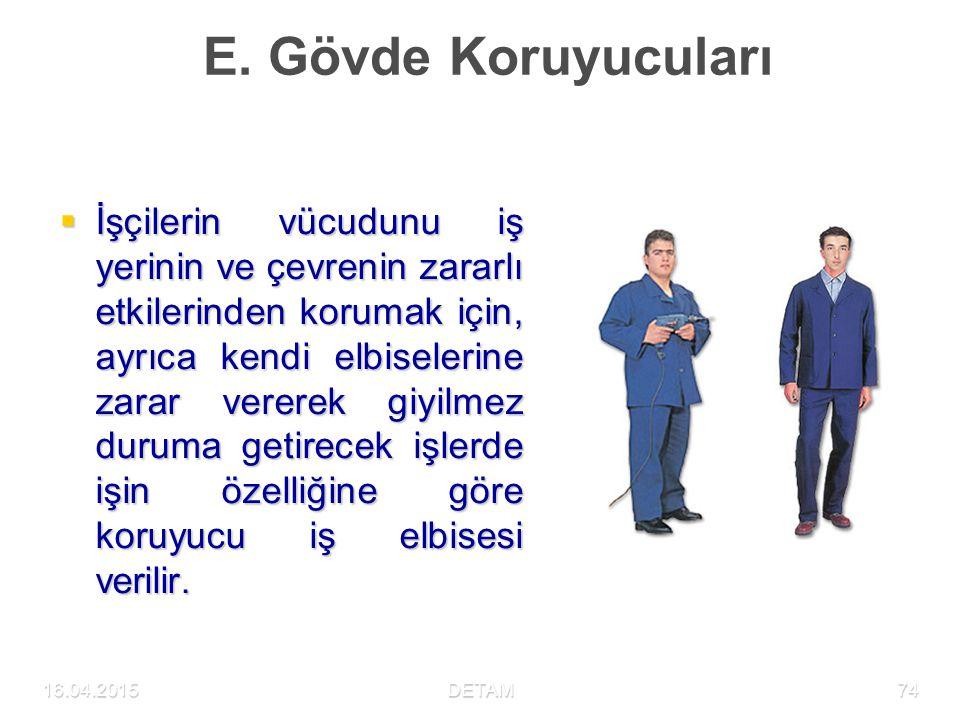 E. Gövde Koruyucuları